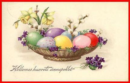 Boldog Húsvétot mindenkinek!