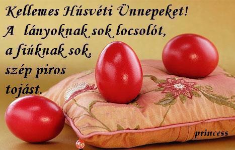 Kellemes húsvéti ünnepeket kívánok.
