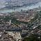 Légifotó sétarepülés folyamán:  Budapest madártávlatból