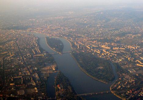 Légifotó sétarepülés folyamán:  Budapest madártávlatból 3