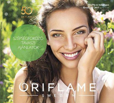 Oriflame katalógus,érvényes 2017.április 11.-től,május 10.-ig.