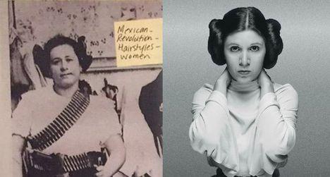 Clara de la Rocha mexikói forradalmárnőtől kölcsönözték Leia hercegnő ikonikus hajcsigáit (mult-kor.hu)