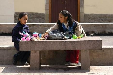 Cusco utcakép