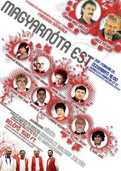 Debreceni magyarnóta est 2017 február 25