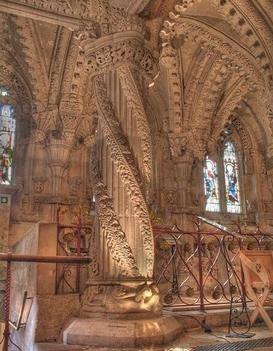 Rosslyn kápolna belülről