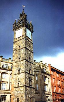 skócia29 Toolbooth Steeple at Glasgow cross