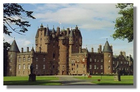 skócia 25 Glamis Castle, Angus