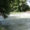 Sorjási bukó a hullámtéri vízpótlórendszerben, Dunaremete 2016. július 14.-én 2