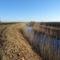 Szentkúti csatorna a Lipót és Darnózseli községek közigazgatási határán húzódik, 2016. december 28.-án 1