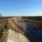 Szentkúti csatorna a Lipót és Darnózseli községek közigazgatási határán húzódik, 2016. december 28.-án 2