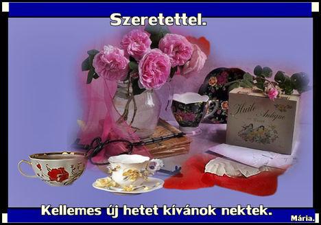 Szép Új hetet kívánok szeretettel.