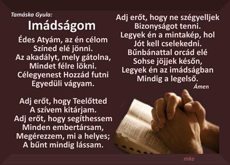 Imádságom