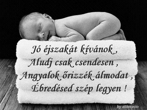 Jóéjszakát