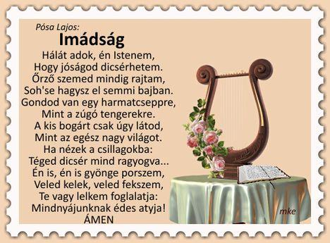 Posa Lajos-Imádság