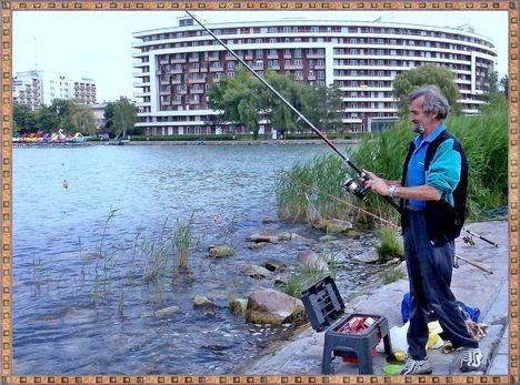 Siófoki horgász.