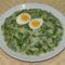 Spárga-zöldborsó főzelék