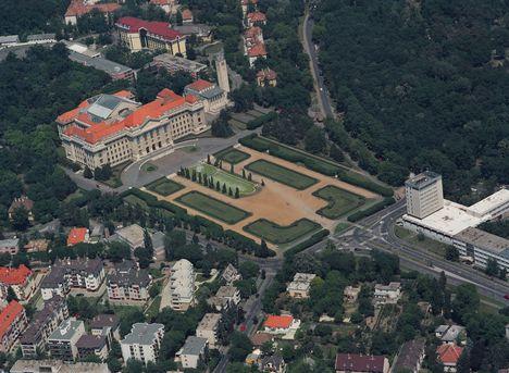 Debrecen odafentről