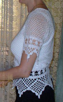 fehér triko