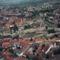 Légifotó az egri várról