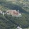 Légifotó sétarepülés folyamán: Pannonhalma felett