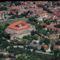 Légifotó sétarepülés folyamán: Siklós