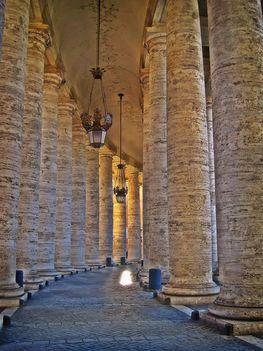 Bernini-colonnade, Szt.Péter tér
