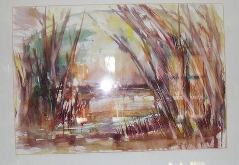 Őszi színek ( akvarell )