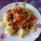 Darálthúsos-cukkinis tészta