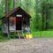 Dunasziget, Kisvesszősi Camping területe, 2017. május 05.-én 2
