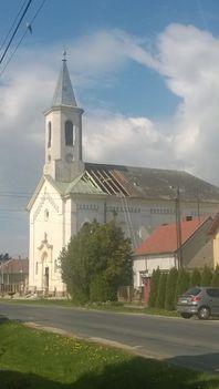 Templom tetőcsere - 2017 tavasza 1