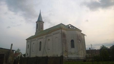 Templom tetőcsere - 2017 tavasza 2