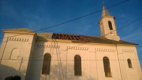 Templom tetőcsere - 2017 tavasza 3