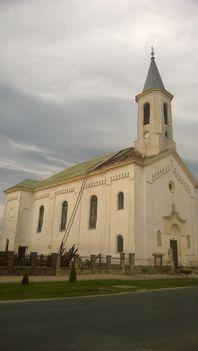 Templom tetőcsere - 2017 tavasza 4