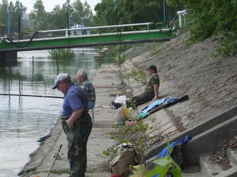 Csepel Nagy-Duna horgászat