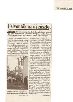 Első falunap 1999