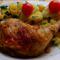 Fűszeres csirkecomb
