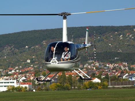 Helikopteres sétarepülés tavasszal