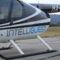 Légi reklám a helikopter oldalán