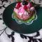 Mini bársony torta