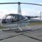 Robinson helikopter várakozik az utasokra