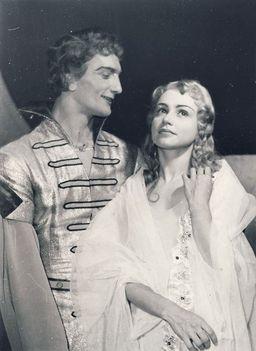 Fülöp Viktor és Kun Zsuzsa - balett - Csongor és Tünde 1956