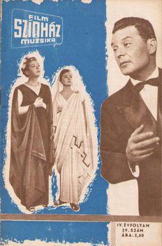 Sennyei Vera Váradi Hédi Mádi Szabó Sándor 1960