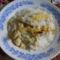Tejszínes négysajtos csirkemell főtt rizzsel