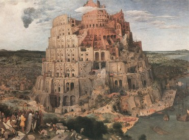 Kezdjetek új Bábel tornyát építeni..Dáma Lovag Erdős Anna verse.