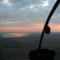 légifotó: naplemente