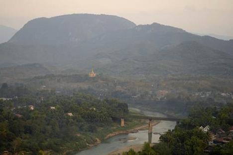 Luang Prabangi táj2
