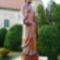 Szent Bertalan apostol szobra a Szent Bertalan templom kertjében, Hegyeshalom 2016. augusztus 22.-én 1