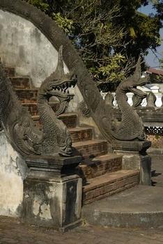 Vientianei templom feljárata