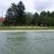 A Mosoni-Duna folyó belterületi partrendezés Halászinál, 2017. július 25.-én  2