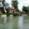 A Mosoni-Duna folyó belterületi partrendezés Halászinál, 2017. július 25.-én  4